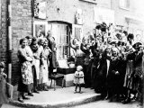 Jubilee Decoration in the East End, May 12th 1935 Photographic Print