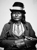 Chief Esatonyett, 1869 Photographic Print by William Soule