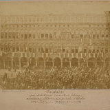 General Garibaldi on a Balcony of the Procuratie Vecchie, St. Mark's Square, Venice, 1867 Photographic Print