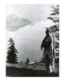 Praying to the Spirits at Crater Lake, Klamath Posters by Edward S. Curtis