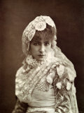 Sarah Bernhardt Photographic Print by  Nadar