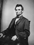 Abraham Lincoln Photographic Print by Mathew Brady
