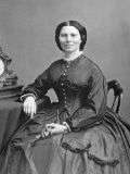 Clara Barton Photographic Print by Mathew B. Brady