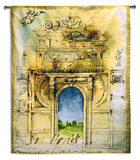 Monument II Wall Tapestry by  Fressiner