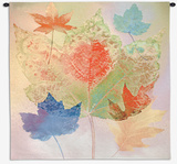 Leaf Chromatics Wall Tapestry by Robert Mertens