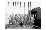 Penn State Row Team, 1914 Affiche par Marker David