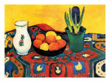 Hyazinthenteppich Still Life Posters by Auguste Macke