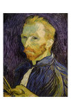 Self-Portrait Kunst af Vincent van Gogh