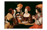 The Cheater Card Game Prints by Georges de La Tour