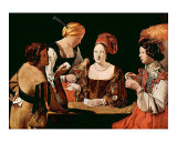 The Cheater Card Game Posters by Georges de La Tour