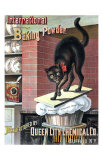 Black Cat Baking Powder Posters by Tom Captain