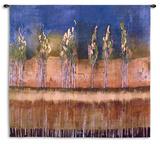 Poplars Wall Tapestry by Asha Menghrajani