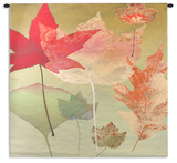 Leaf Counterpoint Wall Tapestry by Robert Mertens