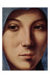 Gesicht der Maria Portrait Posters by  Antonello da Messina