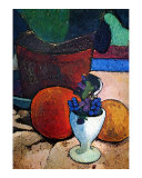 Flower Pot and Fruit Posters by Paula Modersohn-Becker