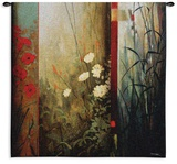 Rainforest Poppies Wall Tapestry by Don Li-Leger