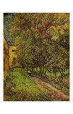 The Garden of Saint-Paul Hospital Poster by Vincent van Gogh