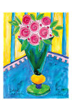 Joyful Rose Bouquet Posters by Deborah Cavenaugh