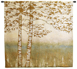 Birch Silhoutte I Wall Tapestry by James Wiens