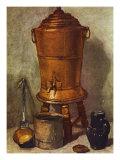 Wasserbehalter Posters by Jean-Baptiste Simeon Chardin