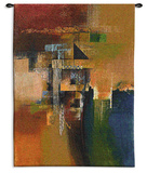 Desert Jewel Wall Tapestry by Asha Menghrajani