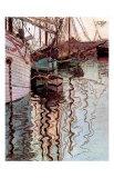 Der Hafen von Triest Posters by Egon Schiele