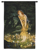 Midsummer Eve Wall Tapestry by Edward Robert Hughes