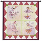 Flower Fairies Wall Tapestry by Robbin Rawlings