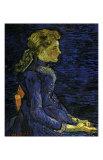 Portrait of Adeline Ravoux Plakater af Vincent van Gogh