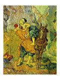 The Good Samaritan Poster von Vincent van Gogh