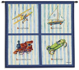 Transportation Wall Tapestry by Catherine Richards