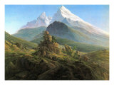 Mountain Majesty Prints by Caspar David Friedrich