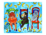 Monkey Chair Prints by Deborah Cavenaugh