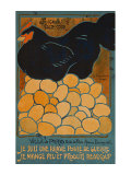 French Hen Affiches par  Dovanne