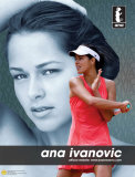 Ana Ivanovic Tennis Sports Poster Posters