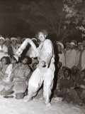 Balti Porters Dancing (To Music of Singers) Photographic Print