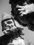 Grotesque Figures, Villa Palagonia, Bagheria Photographic Print