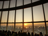 Crowds Gather to Watch the First Sunrise of the New Year, Tokyo Photographic Print by David Guttenfelder