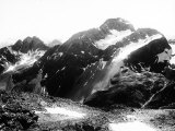View of Julier Peak in the Lombardian Alps, View from Nair Peak. the Peak is Covered with Snow Photographic Print