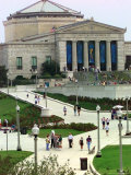 New Sidewalks and Landscaping Give Rise to the Shedd Aquarium Photographic Print