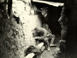 Soldiers Write to Their Beloved During World War I Photographic Print