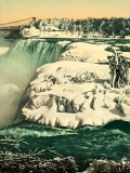 The Snow on the River Niagara Photographic Print