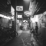 In the Quarter of Traditional Restaurants, in Ghion, Kyoto Photographic Print