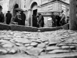 Funeral in San Giovanni in Fiore Photographic Print