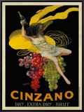 Asti Cinzano, c.1910 Framed Canvas Print by Leonetto Cappiello
