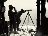 Italian Observation Post on Monte Nero, at an Altitude of 2000 Meters, During World War I Photographic Print