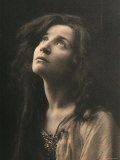 Portrait of the Theatre Actress Emma Gramatica Photographic Print