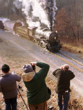 Avid Train Photographers Photographic Print