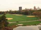 Turtle Pond and the Newly Refurbished Great Lawn of Central Park Photographic Print