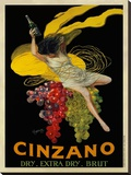 Asti Cinzano, c.1910 Stretched Canvas Print by Leonetto Cappiello